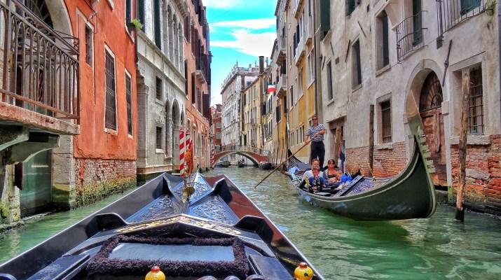 Venezia Venice gondola