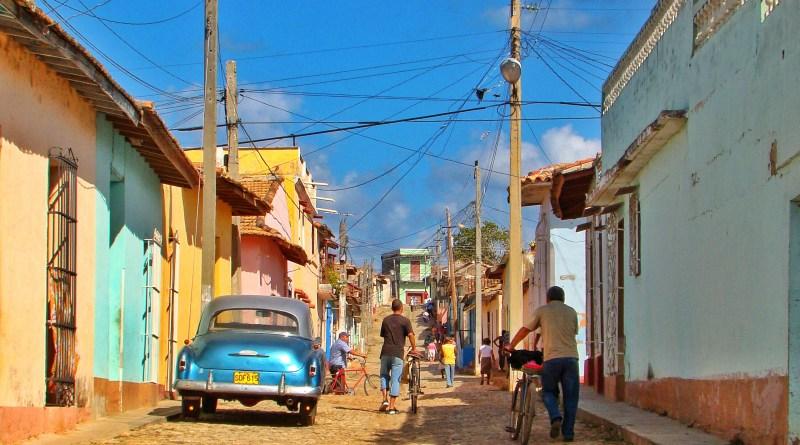 Trinidad Cuba streetlife