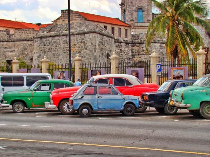 Classic Car Rental Cuba Havana