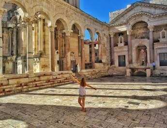 Split Peristyle Croatia