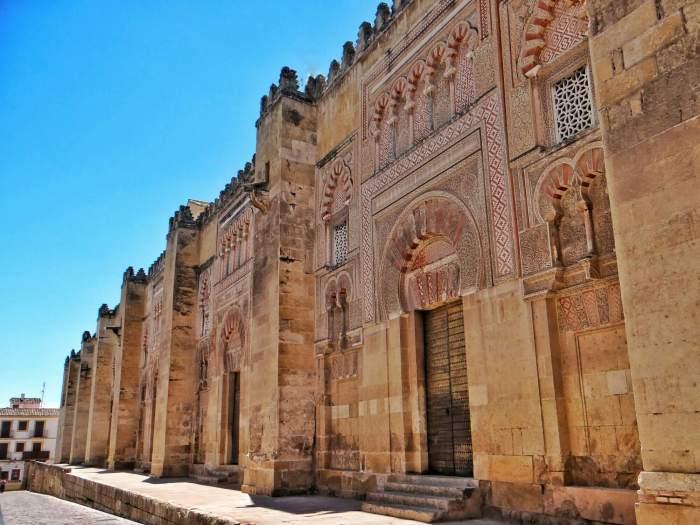 One day in Cordoba Mezquita doors