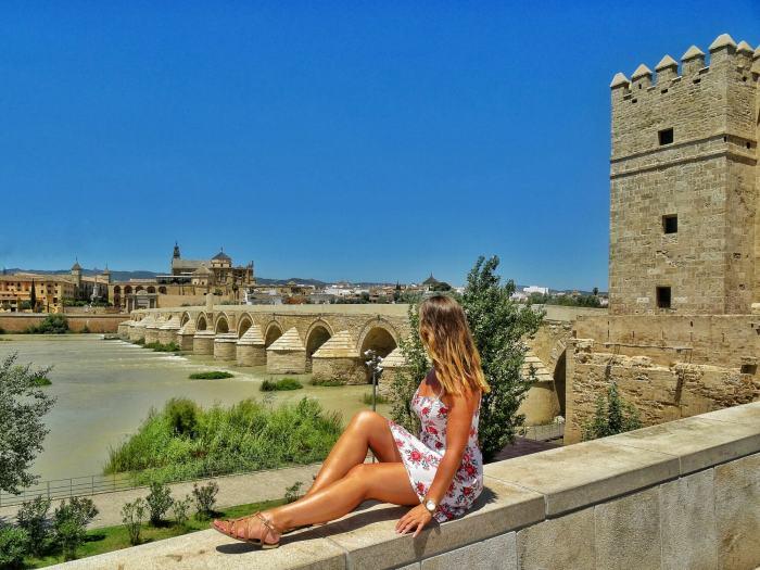 One day in Cordoba Puente Romano