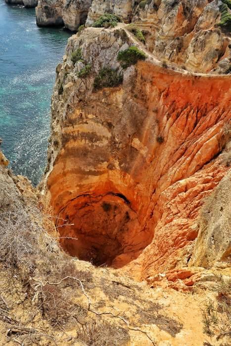 Algarve Portugal sinkhole