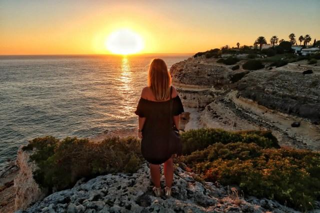 Algarve Portugal sunset