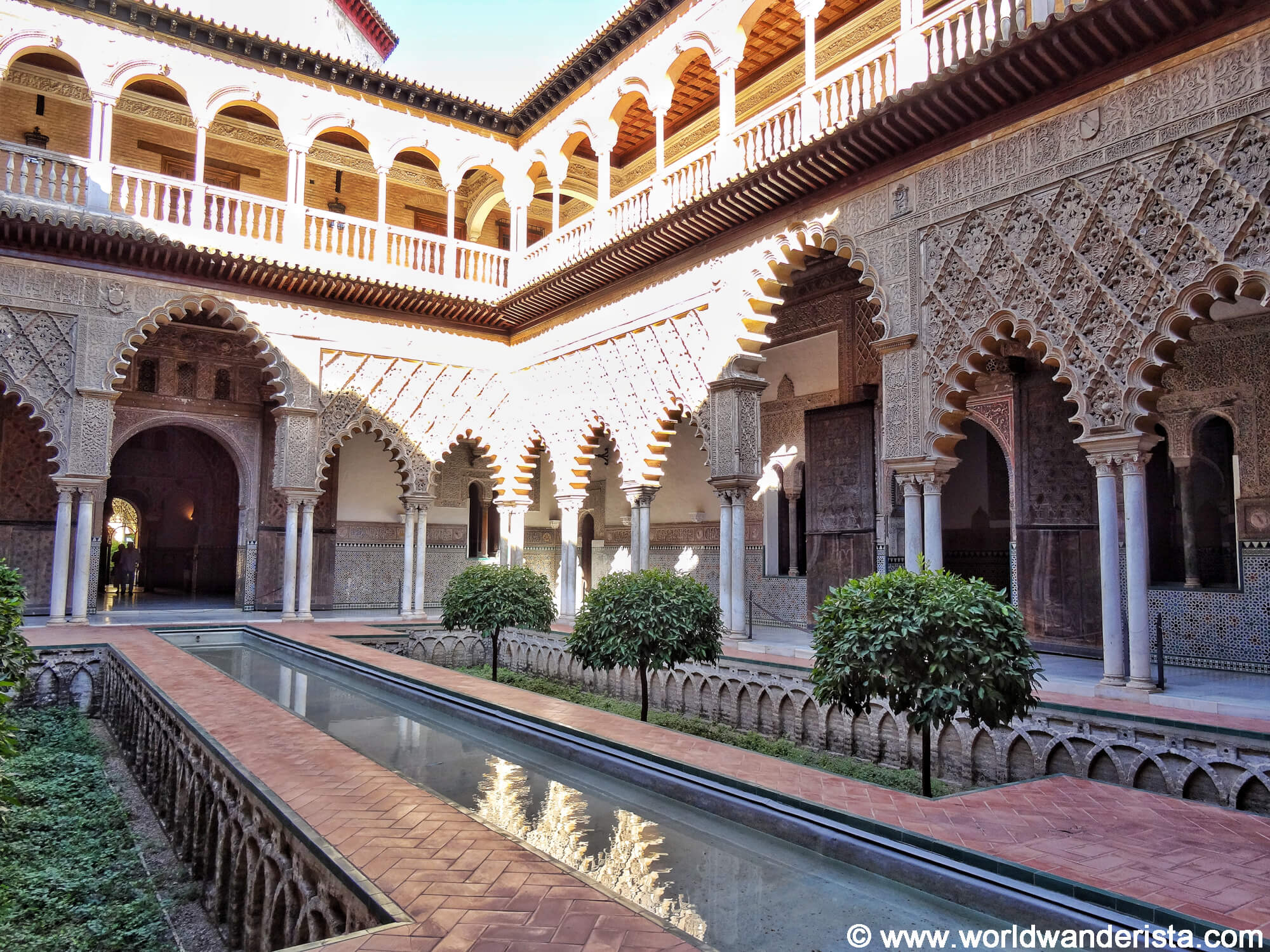 Photos of the real alcazar that will make you want to go for Cuarto real alcazar sevilla
