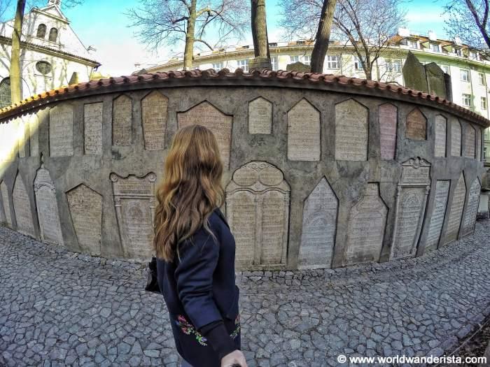 Old Jewish Cemetery Prague Josefov