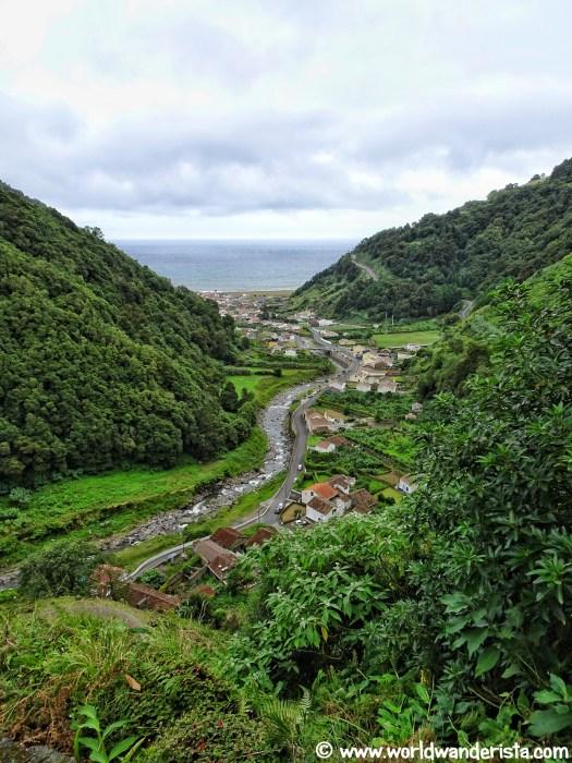 Azores road trip Sao Miguel Faial da Terra