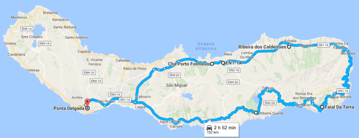 Azores road trip Sao Miguel itinerary 02