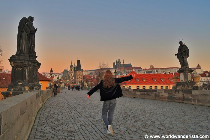 Bucket list Prague Charles Bridge Karluv Most