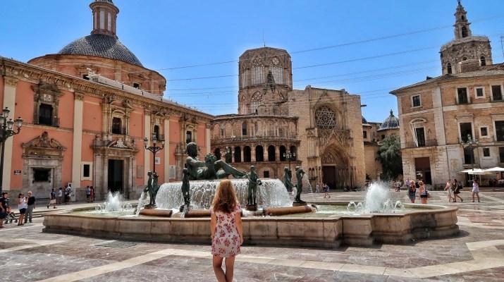 Valencia Plaza de la Virgen