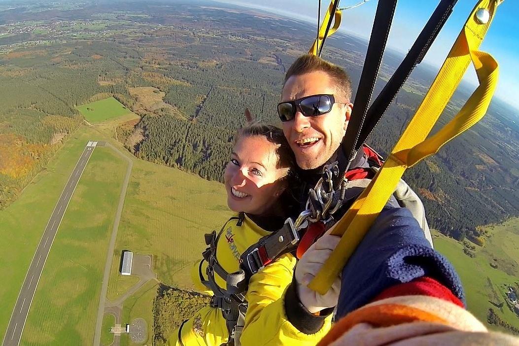 My skydive experience at Skydive Spa, Belgium