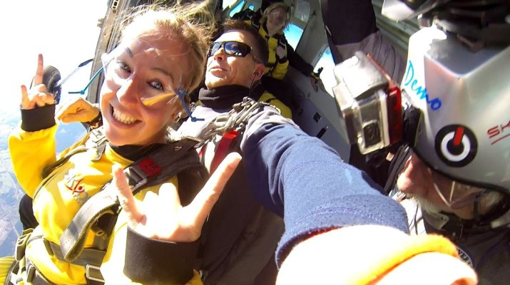 Spa Skydive Belgium video
