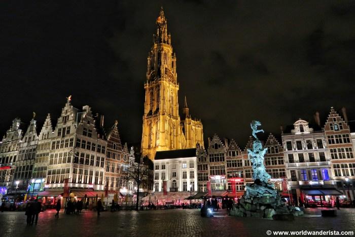 Ghostwalk Antwerp Grote Markt