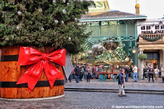 London Christmas Covent Garden
