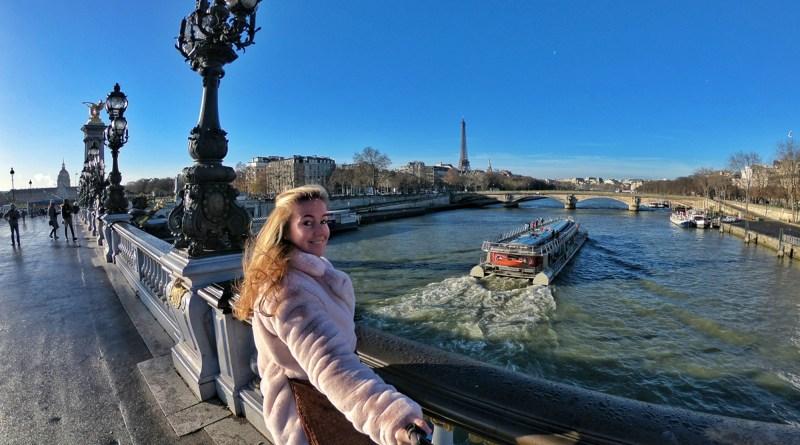 Paris France Pont Alexandre