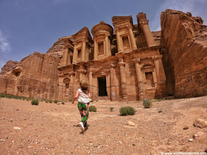 Two days in Petra monastery