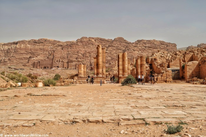 © Two days in Petra main trail