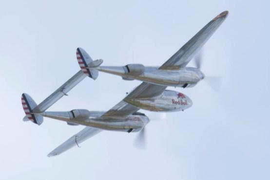 Lockheed P-38L Lightning N25Y - 01 Flying Legends 2015