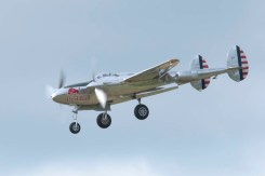 Lockheed P-38L Lightning N25Y - 05 Flying Legends 2015