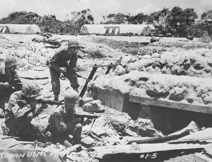 US Marines Battle of Tinian 1944 | World War Photos