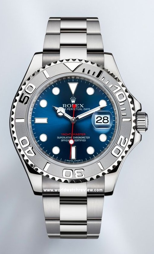 Rolex Oyster Perpetual Yacht Master Blue Dial In Rolesium