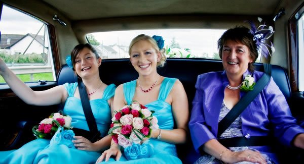 Transportation for the Bridal party