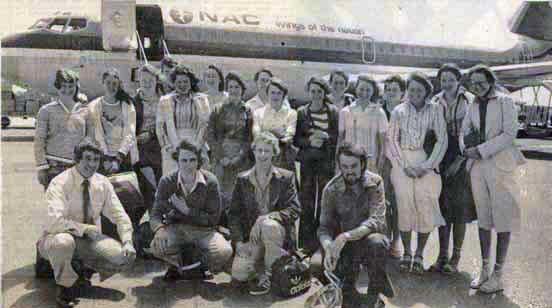 Noumea School Trip 1977