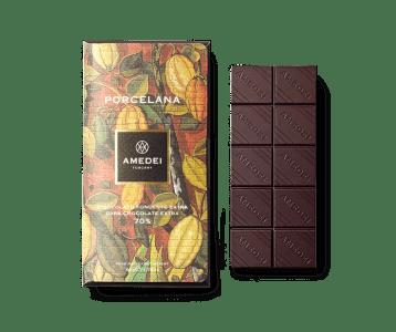 Amedei Porcelana 70% Dark Chocolate Bar   World Wide Chocolate