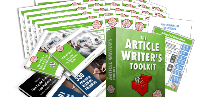 The Article Writer's Toolkit