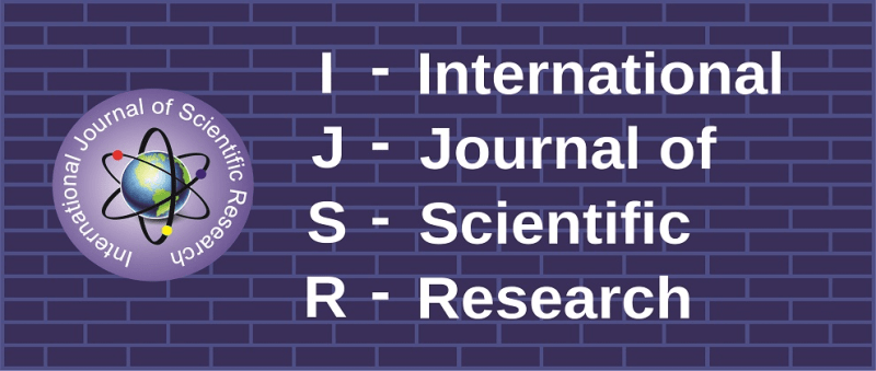 IJSR - International Journal of Scientific Research - Banner