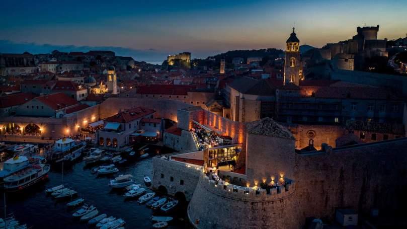 restaurants yacht Mediterranean, Restaurant 360, Croatia