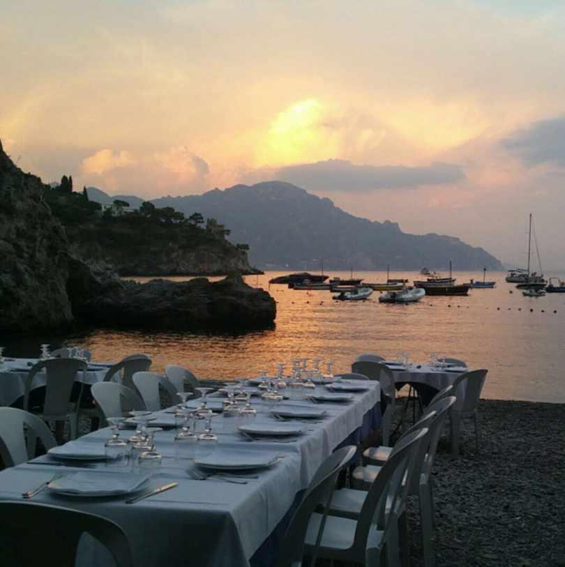 restaurants yacht Mediterranean, Ristorante La Tonnarella, Italy 1
