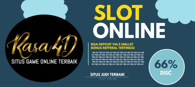 Situs Slot Online Terbesar Via E-wallet Bonus Refferal Tertinggi