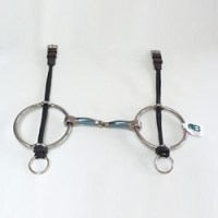Polito Snaffle Big Ring Gag