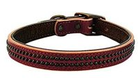 Weaver dog collar havana