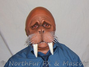 Walrus Furry Mask