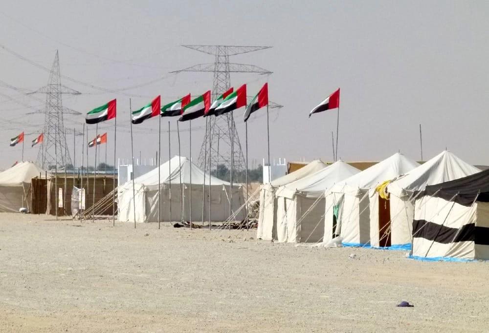 Desert in Abu Dhabi