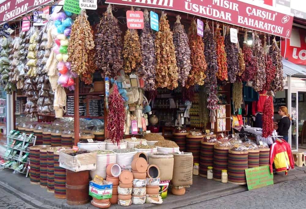 Spice shop in Uskudar