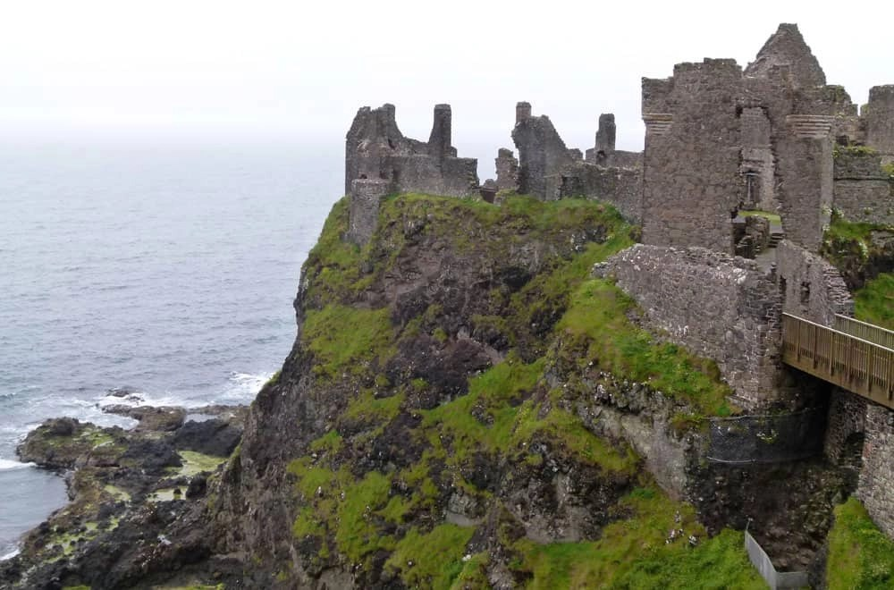 The Ghosts of Dunluce Castle