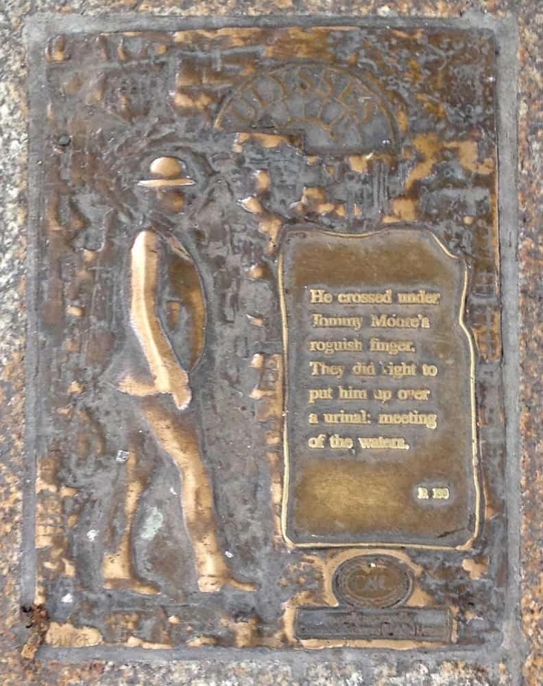 Pavement plaque, Dublin