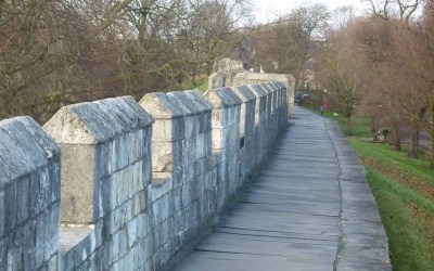A Slow Walk Around the Walls of York