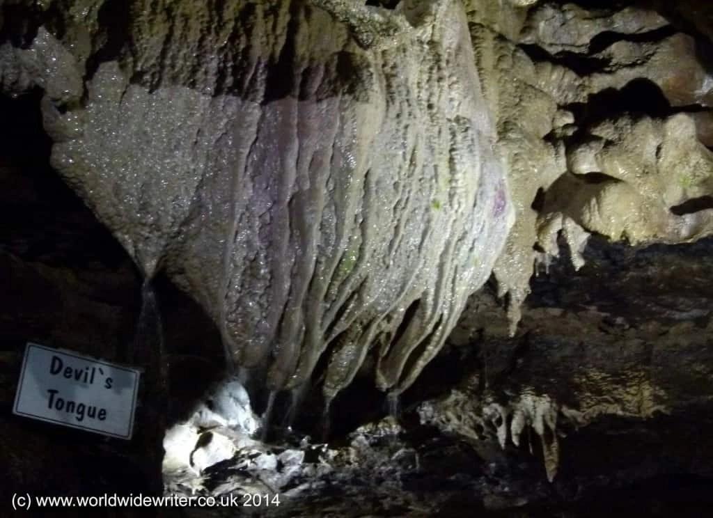 Devil's Tongue,, White Scar Cave, Yorkshire