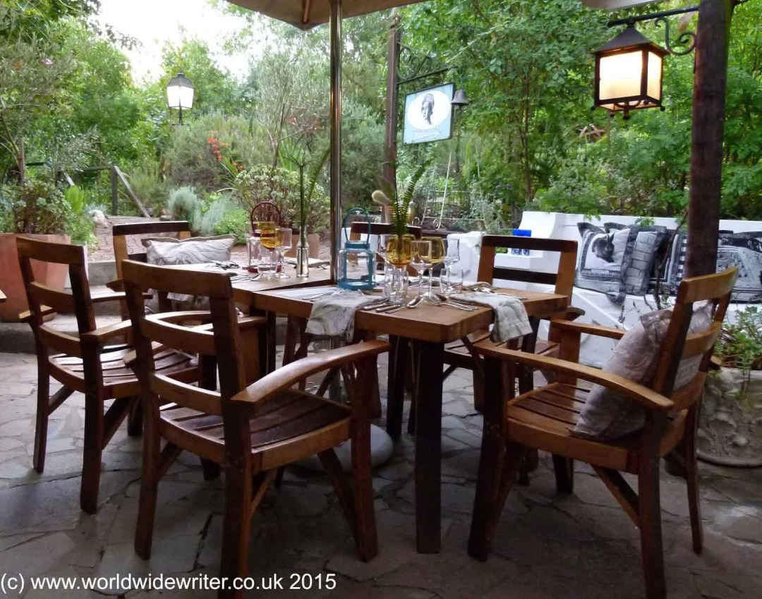 Dining area, Augusta de Mist, Swellendam, South Africa