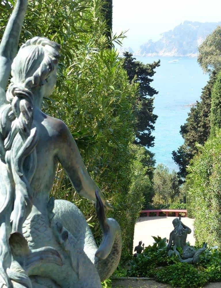 Mermaid at the Santa Clotilde Gardens, Lloret de Mar