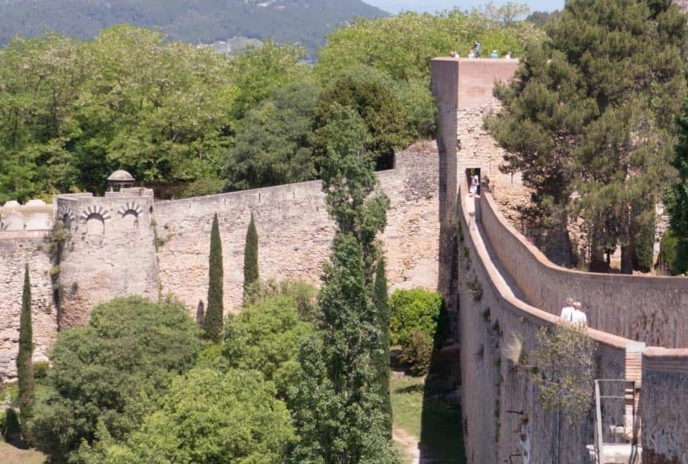 The Old Town and Walls of Girona, Costa Brava