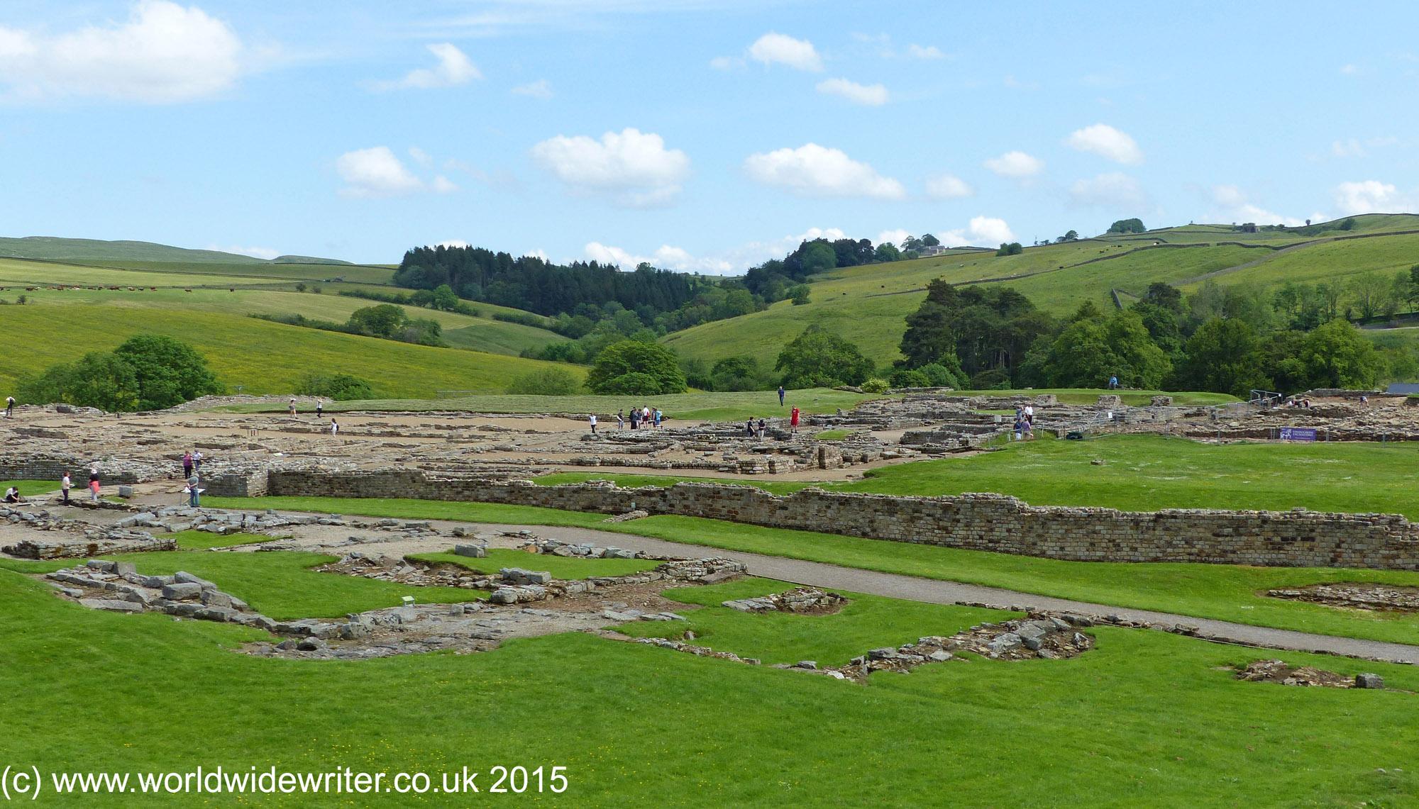 History and archaeology at vindolanda roman fort excavations at vindolanda roman fort stopboris Images