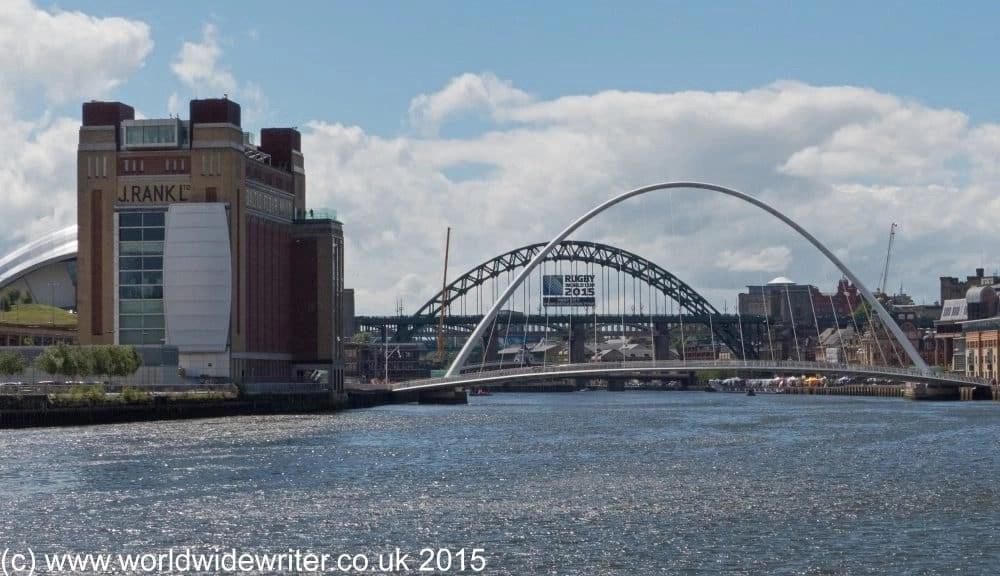Walking Through Newcastle on The Hadrian's Wall Path