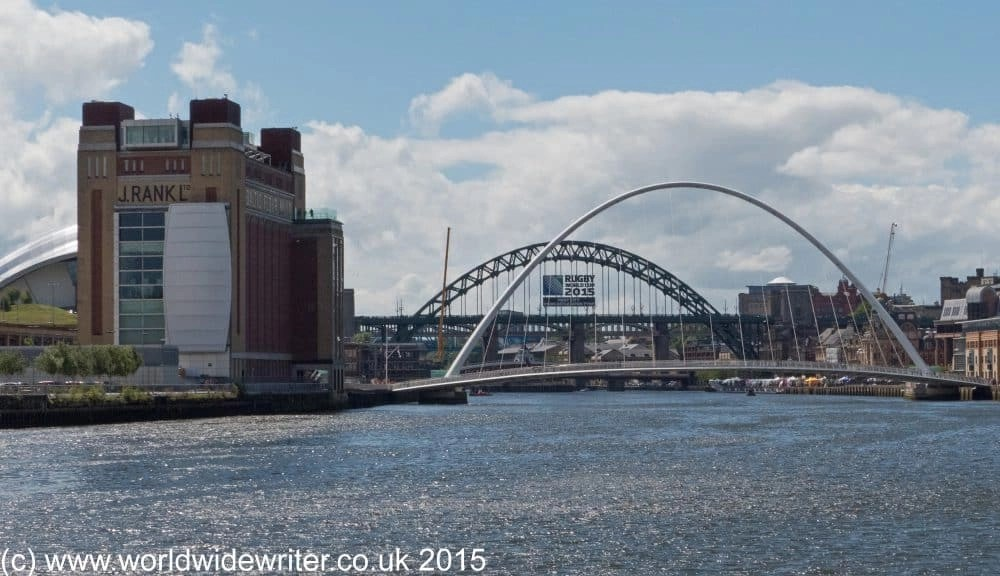 River Tyne and the Baltic Centre for Contemporary Art
