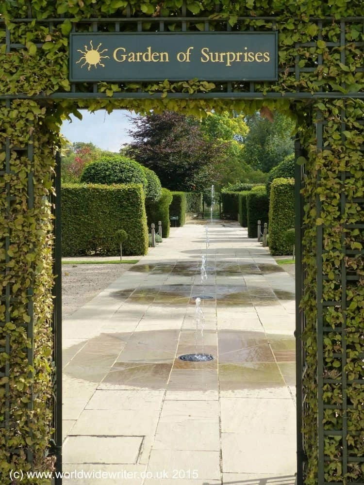 Burghley Garden of Surprises - www.worldwidewriter.co.uk