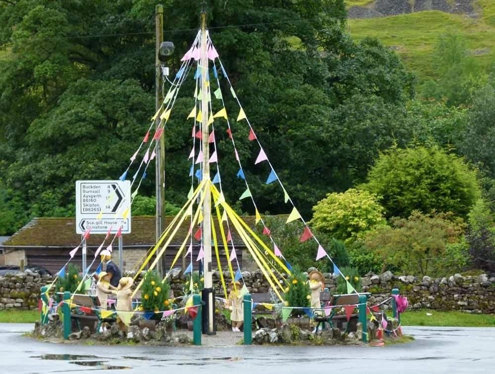 Maypole at Kettlewell